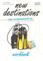 New Destinations. Pre-Intermediate A2. Workbook - фото обкладинки книги