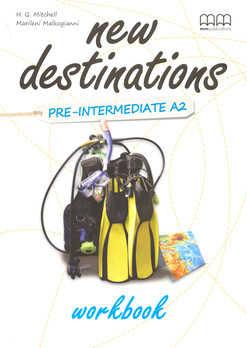 New Destinations. Pre-Intermediate A2. Workbook - фото книги