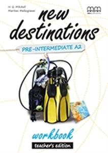 New Destinations. Pre-Intermediate A2. Workbook. Teacher's Edition - фото книги