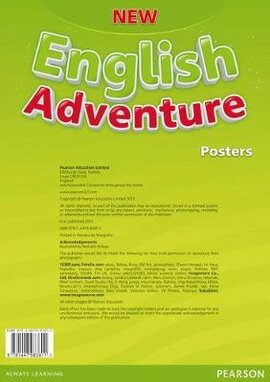 New English Adventure 1 Posters (плакати) - фото книги