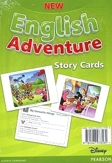 New English Adventure 1 Storycards (картки) - фото книги