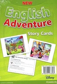 New English Adventure 1 Storycards (картки) - фото книги