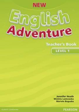 New English Adventure 1 Teacher's Book (книга вчителя) - фото книги