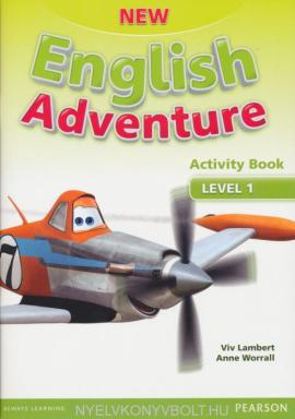 New English Adventure 1 Workbook + Song CD (робочий зошит) - фото книги