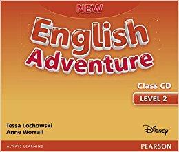 New English Adventure 2 Class CD (аудіодиск) - фото книги