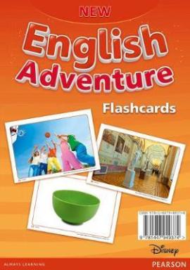 New English Adventure 2 Flashcards (картки) - фото книги