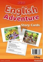 New English Adventure 2 Storycards (картки) - фото обкладинки книги