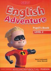 New English Adventure 2 Student Book + DVD (підручник) - фото обкладинки книги