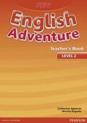 New English Adventure 2 Teacher's Book (книга вчителя) - фото обкладинки книги