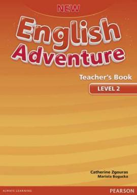 New English Adventure 2 Teacher's Book (книга вчителя) - фото книги