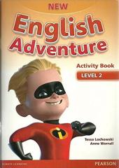 New English Adventure 2 Workbook + Song CD (робочий зошит) - фото обкладинки книги