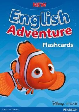 New English Adventure Starter A+B Flashcards (картки) - фото книги