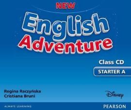 New English Adventure Starter A Class CD (аудіодиск) - фото книги