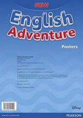 New English Adventure Starter A Posters (плакати) - фото обкладинки книги