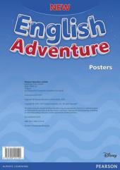 New English Adventure Starter A Posters (плакати) - фото обкладинки книги