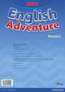 New English Adventure Starter A Posters (плакати) - фото книги