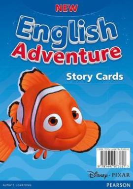 New English Adventure Starter A Storycards (картки) - фото книги