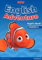 New English Adventure Starter A Student Book + DVD (підручник) - фото обкладинки книги