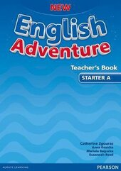 New English Adventure Starter A Teacher's Book (книга вчителя) - фото обкладинки книги
