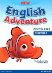 New English Adventure Starter A Workbook + Song CD (робочий зошит) - фото обкладинки книги