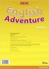 New English Adventure Starter B Posters (плакати) - фото обкладинки книги