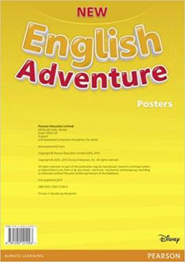 New English Adventure Starter B Posters (плакати) - фото книги