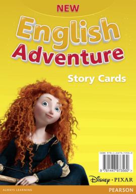 New English Adventure Starter B Storycards (картки) - фото книги