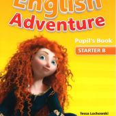 New English Adventure Starter B Student Book + DVD (підручник) - фото обкладинки книги