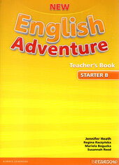 New English Adventure Starter B Teacher's Book (книга вчителя) - фото обкладинки книги