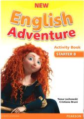 New English Adventure Starter B Workbook + Song CD - фото обкладинки книги