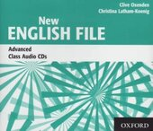 New English File Advanced. Class Audio CDs (набір із 3 аудіодисків) - фото обкладинки книги