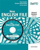 New English File Advanced. Workbook with Key with MultiROM - фото обкладинки книги