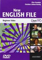 New English File Beginner. DVD (відеодиск) - фото обкладинки книги