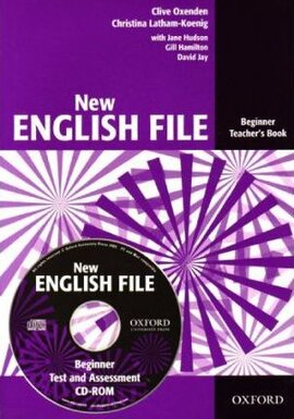 New English File Beginner. Teacher's Book with Test and Assessment CD-ROM - фото книги