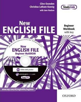 New English File Beginner. Workbook with Key with MultiROM - фото книги