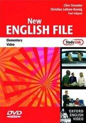 New English File Elementary. DVD (відеодиск) - фото обкладинки книги