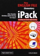 New English File Elementary. iPack single user version (програмне забезпечення) - фото обкладинки книги