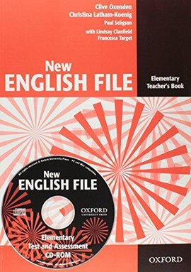 New English File Elementary. Teacher's Book with Test and Assessment CD-ROM - фото книги