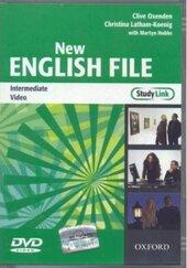 New English File Intermediate. DVD (відеодиск) - фото обкладинки книги