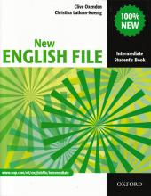 New English File Intermediate. Student's Book - фото обкладинки книги