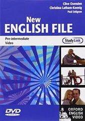 New English File Pre-Intermediate. DVD (відеодиск) - фото обкладинки книги
