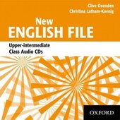 New English File Upper-Intermediate. Class Audio CDs (набір із 4 аудіодисків) - фото обкладинки книги