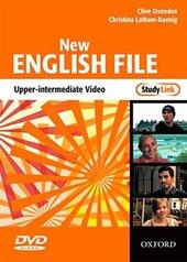 New English File Upper-Intermediate. DVD (відеодиск) - фото обкладинки книги