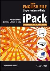 New English File Upper-Intermediate. iPack single user version (програмне забезпечення) - фото обкладинки книги