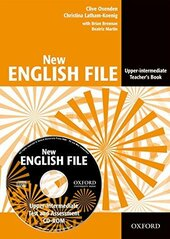 New English File Upper-Intermediate. Teacher's Book with Test and Assessment CD-ROM - фото обкладинки книги