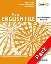 New English File Upper-Intermediate. Workbook with Key with MultiROM - фото обкладинки книги