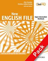 New English File Upper-Intermediate. Workbook with Key with MultiROM - фото обкладинки книги