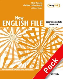 New English File Upper-Intermediate. Workbook with Key with MultiROM - фото книги