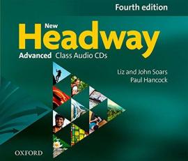 New Headway 4th Edition Advanced: Class Audio CDs (аудіодиск) - фото книги