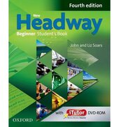 New Headway 4th Edition Beginner: Student's Book with iTutor DVD - фото обкладинки книги